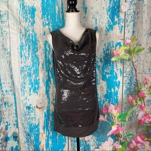 Katherine barclay sequined mini dress